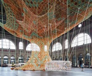 Ernesto Neto's GaiaMotherTree In Zurich