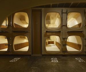 Schemata Designs °C Sauna + Capsule Hotel in Tokyo