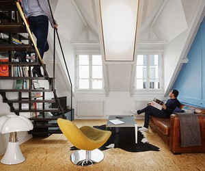 Parisian Duplex Apartment by Florent Chagny