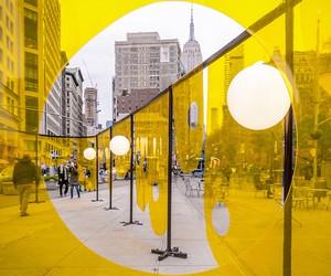 Happy, Flatiron Plaza, NYC / Studio Cadena