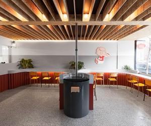 David Dworkind Designs Falafel Yoni in Montreal