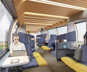 Mecanoo Envisions The Train Of The Future