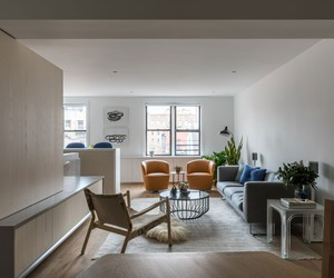 MKCA Refreshes A Post-war West Village Apartment