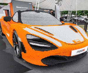 Full-Size Lego McLaren 720S Unveiled at Goodwood