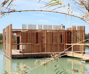 Floating Hotel in France by Atelier LAVIT
