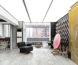Home Art Studio in Shanghai by Topos Design