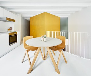 Duplex Tibbaut in Barcelona by Raúl Sánchez
