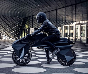 NERA: World's First Fully 3D Printed e-Motorcycle