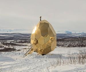 Solar Egg Sauna by Bigert & Bergström