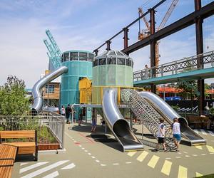 Williamsburg's New Domino Park Playground