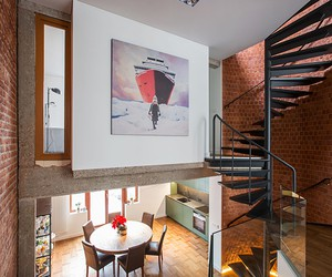 YCL Studio Renovates 70s Brick House in Brussels