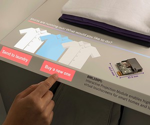 BOSCH Puts Touchscreen In Your Closet