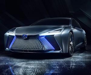 Lexus Unveils Its Autonomous LS+ Concept