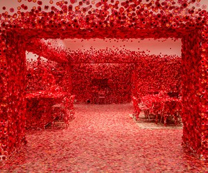 Flower Obsession by Yayoi Kusama At NGV