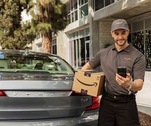Amazon Teams Up With Volvo For In-car Deliveries