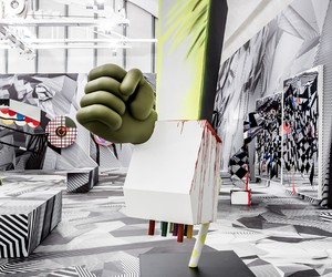 Tobias Rehberger's solo exhibition in Frankfurt