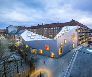 Ama'r Children's Culture House by Dorte Mandrup