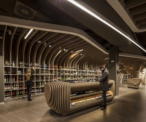 SPAR Supermarket in Budapest by LAB5 Architects