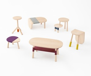 Pooh Table Collection by Nendo for Disney Japan