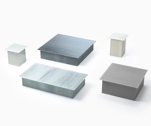 Brushstroke collection by Nendo for Glasitalia