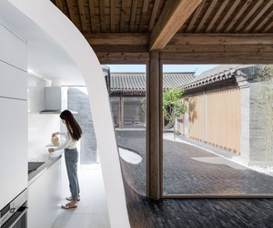 Twisting Courtyard by Archstudio