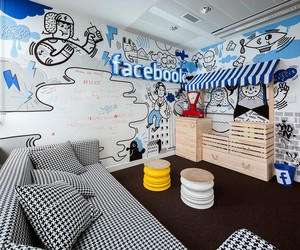 Facebook Office in Warsaw by Madama