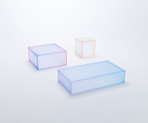 Soft Table Collection by Nendo for Glas Italia