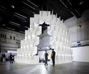 Populous' Installation for the London WAF