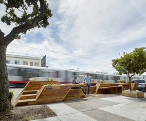 INTERSTICE Architects' Sunset Parklet in SF