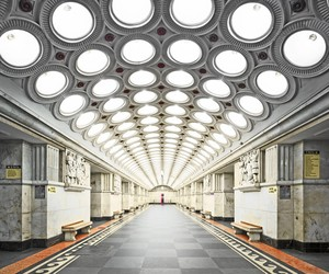 The Stunning Beauty of Russia's Metro Stations