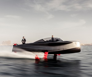 Enata Unveils Foiler, The Flying Yacht