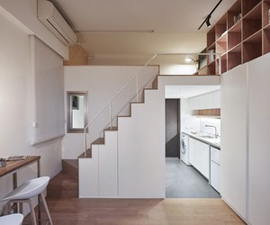 Tiny Apartment in Taipei by A Little Design
