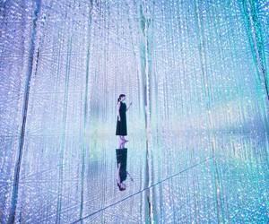 TeamLab's Digital Art Exhibition in Tokyo
