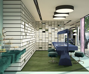 New Oliver Peoples Miami Store by Dimore Studio