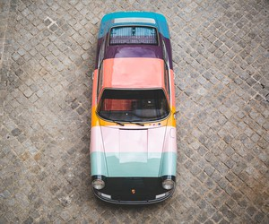 1965 Porsche 911 Gets Iconic Paul Smith's Stripes