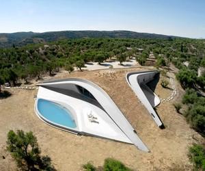 Villa Ypsilon by LASSA Architects, Greece