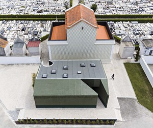 M2 Senos Refreshes A Cemetery Toilet in Portugal