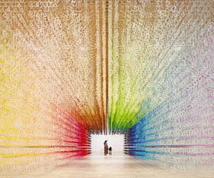 Emmanuelle Moureaux's Color of Time Installation