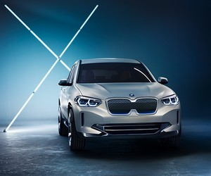 BMW Unveils All-Electric iX3 Concept in Beijing