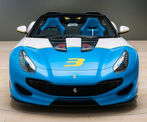 One-Off Ferrari SP3JC V12 Roadster