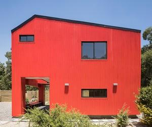 La Casa Roja by Felipe Assadi, Chile