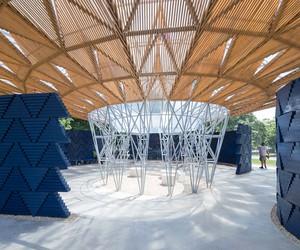 2017 Serpentine Pavilion by Diébédo Francis Kéré