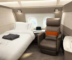 Singapore Airlines' new luxury suites