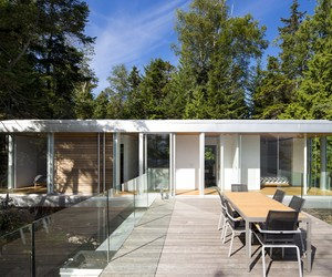 Gambier Island House by MGB Architecture