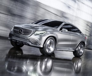 Mercedes-Benz unveils the Concept Coupé SUV