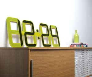ClockONE: E Ink Wall Clock by Twelve24