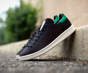 "adidas Stan Smith Primeknit ""Black/GreenOrange"""