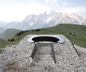 2305m.a.s.l Lookout by Messner Architects