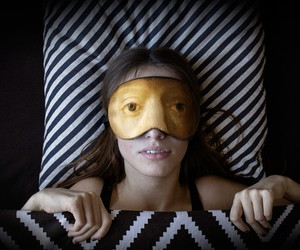 Famous Portrait Inspired Sleep Masks