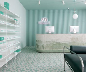 Sergio Mannino Designs Medly Pharmacy in Brooklyn